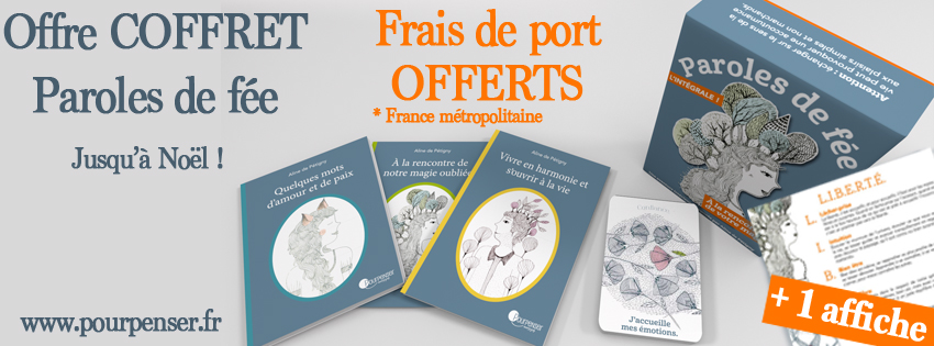 <p>Coffret paroles de f&eacute;e</p>