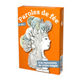 Jeu carte à tirer - Paroles de fee illustré par Alinne de Pétigny